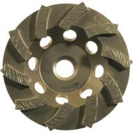 Husqvarna 621716 Turbo Dri Disc - 4 (100) x 78 - 58 B Concrete Grinding Wheel-1