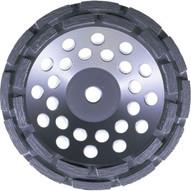 Husqvarna 580764 GW2 Dri Disc - 7 (178) x 78 - 58 B Concrete Grinding Wheel-1