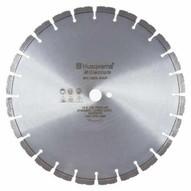 Husqvarna 542759138 Millenium F765G - 14 (350) x .140 Green Concrete Blade for Cutting With Flint Or Quartz-1