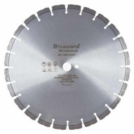 Husqvarna 542759141 Millenium F765G - 14 (350) x .220 Green Concrete Blade for Cutting With Flint Or Quartz-1