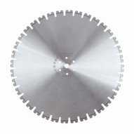 Husqvarna 542759968 Millenium W1107S - 24 (600) x .220 Wall Saw Blade For Cured Concrete-1