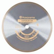 Husqvarna 542761280 Superlok GM - 14 (350) x .095 Continous Rim Granite and Marble Blade-1