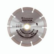 """Husqvarna 542761411 TSD-S Dri Disc - 6 (152) x .095 Segmented Blade For Fast Cutting Concrete"