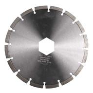 Husqvarna 542767186 Sm-5 10 (250) X .250 Fast Cutting Rough Removal Of Epoxy Coating-1