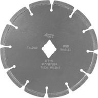 Husqvarna 542774595 DT5+ - 7 (178) x .250 Tuckpointing Blade-1