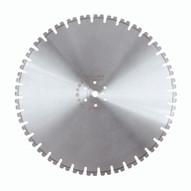Husqvarna 542775788 Millenium W1107 - 24 (600) x .220 General Purpose Wall Saw Blade For Hard Concrete-1