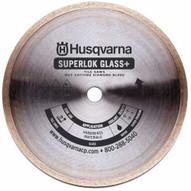Husqvarna 542776618 Superlok Glass Plus 10 (254) x .085 x 5/8 Glass Tile Blade-1