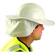 Occunomix 898-008 Hard Hat Shade- White-1