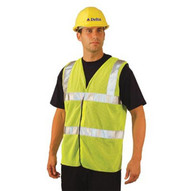 Occunomix LUX-SSCOOLG-Y2X 2x Occulux Ansi Mesh Vest:yell-1