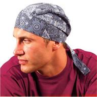 Occunomix TN6-01 Dlx Tie Hat W/elastic Rear Band One Sz Fits All-1