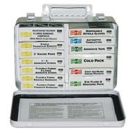 Pac-Kit 5201 Steel 16 Unit Unitized First Aid Kit Standard Fi-1