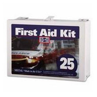 Pac-Kit 6086 25 Person Steel Contractor's First Aid Kit-1