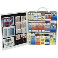 Pac-Kit 6155 Standard Industrial 3 Shelf First Aid Station-1