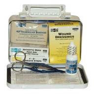 Pac-Kit 6400 10 Person Steel Weatherproof First Aid Kit-w/e-1
