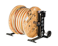 Southwire Mpj-02 Maxis Pro-jax- 6000 Lbs. Capacity Portable 72 Reel Stand (pair)-2