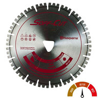 Husqvarna 587668210 Vari-cut Red Vc141000pv-3000 - 14 (350) X .120 Blade For Softsoff-cut 5000 Saws-1