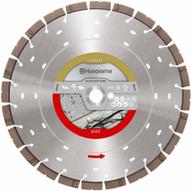Husqvarna 599494725 S45 Exo-Grit 14-inch Diamond Blade Concrete and Reinforced Concrete