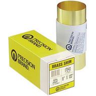 Precision Brand 17515 17s25 .025 Brass Shimstock 6x100-1