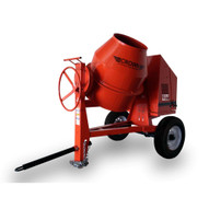 Crown 609492 C12-CGH13 12 cu ft Concrete Mixer w/13HP Honda Engine-1