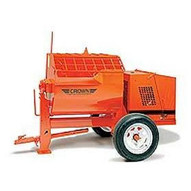 Crown 609541 12SH 12 cu ft Hydraulic Mortar Mixer w/ 5 HP 3 Phase Electric-1