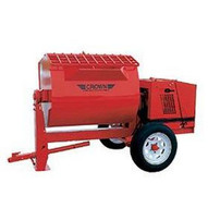 Crown 609562 S16SH 16 cu ft Hydraulic Mortar Mixer w/13HP Honda Engine-1
