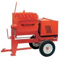 Crown 609715 6SR-E1.5 6 cu ft Mortar Mixer Towable w/1.5 HP Electric-1
