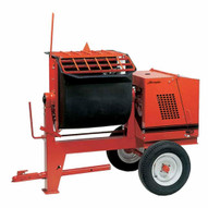 Crown 609880 6PR-GH9 6 cu ft Mortar Mixer Poly w/ 8 HP Honda-1