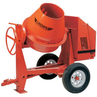 Crown 609944 C9-CE1.5 9 cu ft Cement Mixer w/1.5 HP Electric Engine-1