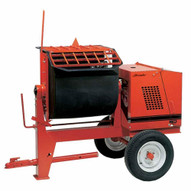 Crown 609963 8P-GH9 8 cu ft Mortar Mixer w/8HP Honda-1