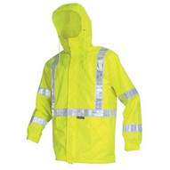 River City 598RJHX2 Cls 3 Brthable Poly/polyureth Jacket 2 Wh Vinyl-1