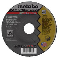 Metabo 616281420 4-12 X 18 X 78 - Steel Stainless Steel Type 27 Qty: 25 in package-1