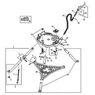 Ridgid 41050 E3171x Hdl & Nut Asm-1