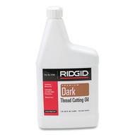 Ridgid 41590 1 Qt Dark Threading Oil (12 BTL)-1