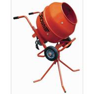 Crown 639010 MAX MIX - 3 Cubic Foot Steel Drum Pedestal Wheelbarrow Utility Concrete Mixer-1