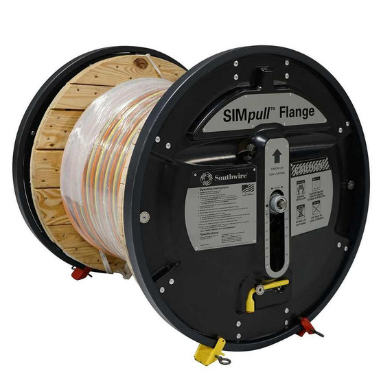 Southwire SF-01 SIMpull Flange For Moving Wooden Cable Reels 2000 LB Capacity-2