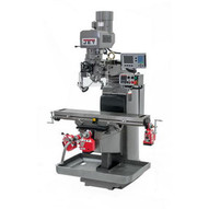 Jet 690680 Jtm-1050evs2230 Mill With 3-axis Acu-rite 303 Dro (knee) With X Y And Z-axis Powerfeeds And Air Powered Draw Bar-9