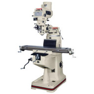 Jet 691170 Jtm-4vs Mill With 3-axis Newall Dp700 Dro (quill) With X Y And Z-axis Powerfeeds And Power Draw Bar-1