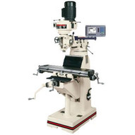 Jet 691186 Jvm-836-3 Mill With 3-axis Newall Dp700 Dro (quill) With X And Y-axis Powerfeeds-1