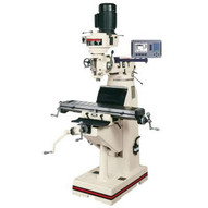 Jet 691191 Jtm-1 Mill With 3-axis Newall Dp700 Dro (quill) With X-axis Powerfeed-1