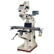 Jet 691198 Jtm-2 Mill With 3-axis Newall Dp700 Dro(quill) With X-axis Powerfeed-1