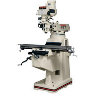 Jet 691208 Jtm-1050 Mill With 3-axis Newall Dp700 Dro (quill) With X-axis Powerfeed-1