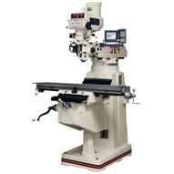Jet 691209 Jtm-1050 Mill With 3-axis Newall Dp700 Dro (quill) With X And Y-axis Powerfeeds-1