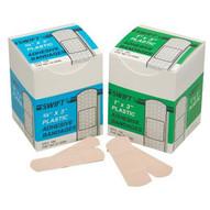Swift First Aid 010045 3 4 X 3 Plastic Strips100 bx-1