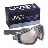 S39610C Uvex Stealth Safety Goggle Teal gray F-1