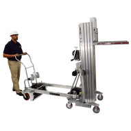 Sumner 2510 10 Foot Counter Weight Material Lift (Heavy Duty) 1000 LB Capacity-5