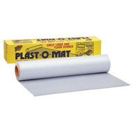 Warp Brothers PM100 30x100' Roll Clear Floor Runner Plast-o-mat-1
