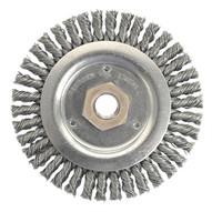 Weiler 13232 Stringer Bead Knot Wheel4-1 2 Diameter- .020 W-1