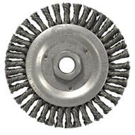 Weiler 13238 Stringer Bead Knot Wheel4-1 2 Diameter- .020ss-1