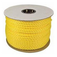 Orion Ropeworks 350080-00600-R0278 1 4 X 600' Twisted Polylite Yellow-1