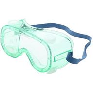 North Eye & Face Protection A610S Spartan Green Frame Safety Glasses Clear Af Coat (10 PR)-1